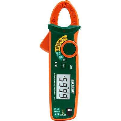 True RMS 60A AC/DC Clamp Meter with NCV