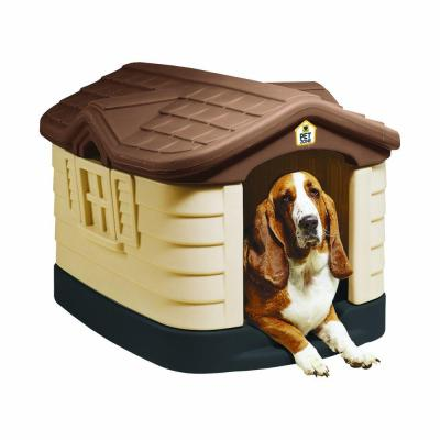 Small To Medium Dog Houses Dog Carriers Houses Kennels The Home Depot