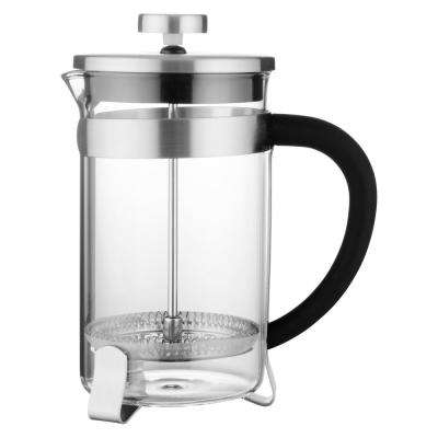 Essentials 4-Cup Stainless Steel Coffee/Tea Plunger