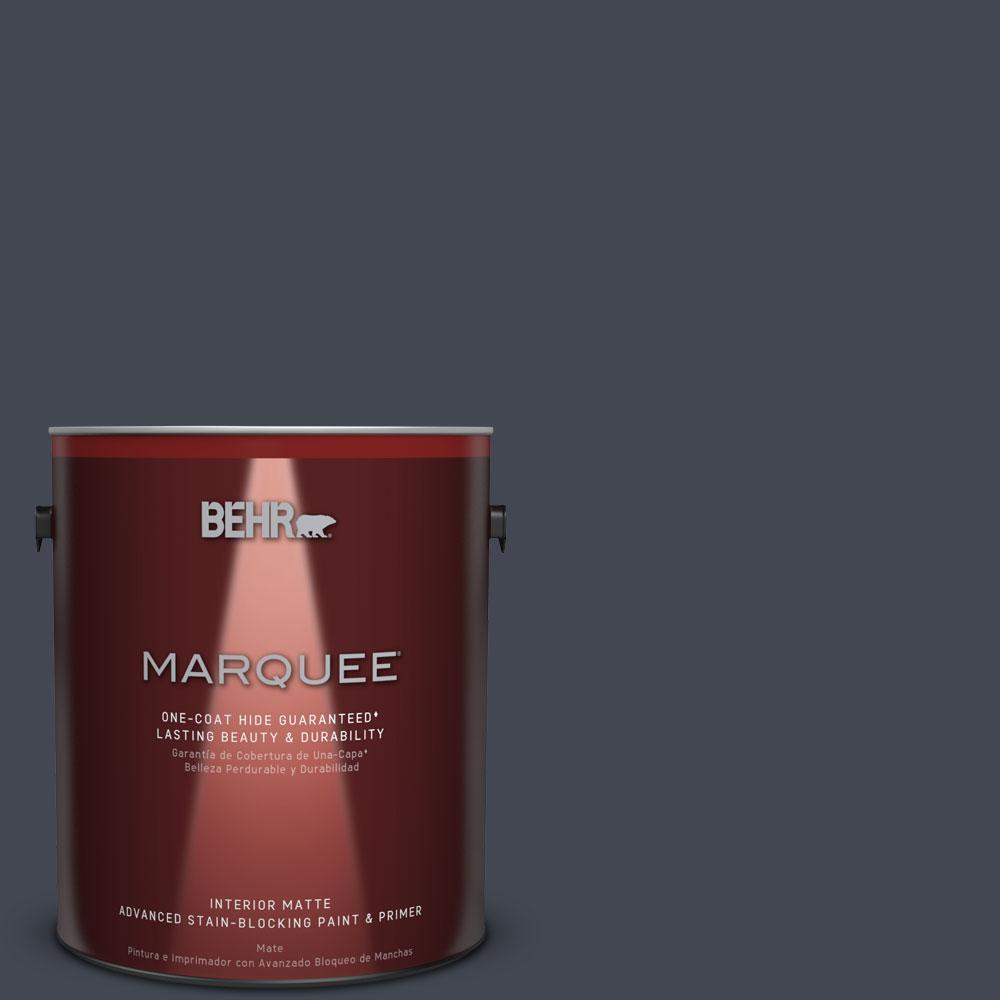 1 gal. #T11-2 Stiletto Matte Interior Paint