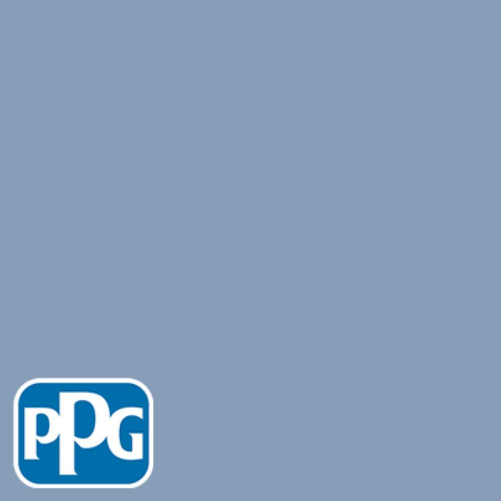 PPG TIMELESS 8 oz. #HDPPGV24 Antwerp Blue Flat Interior/Exterior Paint Sample