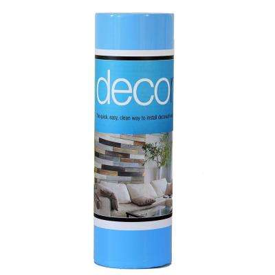 Deco Mat 10 sq. ft. 1 ft. x 10 ft. x 0.08 in. Double Stick Wall Mat for Deco Plank Wood Walls