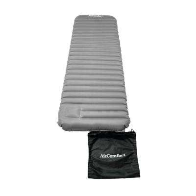 Roll & Go Inflatable Sleeping Pad - Large (Grey)
