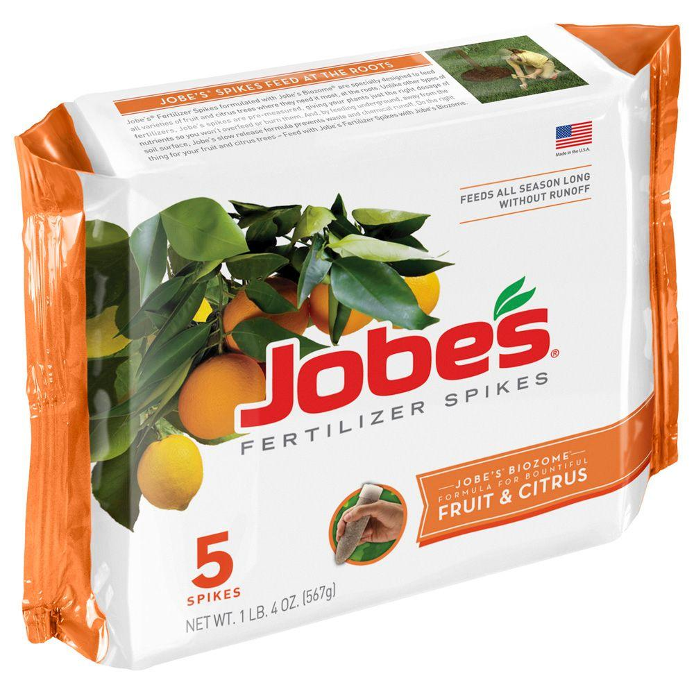 Jobe's Fruit and Citrus Tree Fertilizer Spikes (5-Pack)-DISCONTINUED