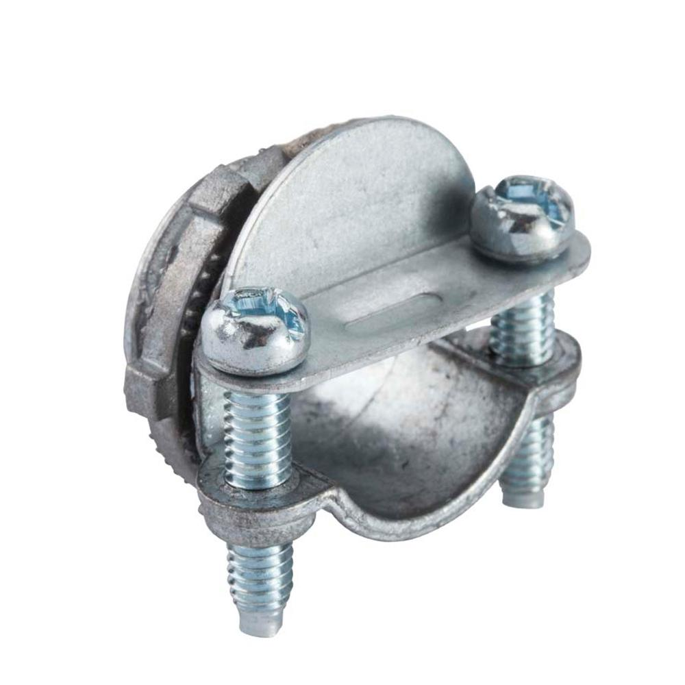 null 3/8 in. Flexible Metal Conduit (FMC) Clamp Combination Connector (25-Pack)