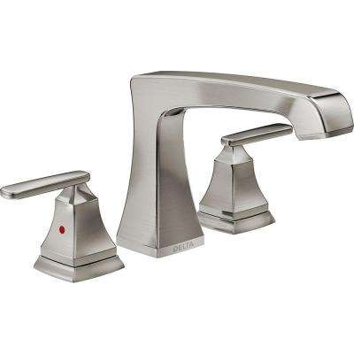 Ashlyn 2-Handle Deck-Mount Roman Tub Faucet Trim Kit in Stainless (Valve Not Included)