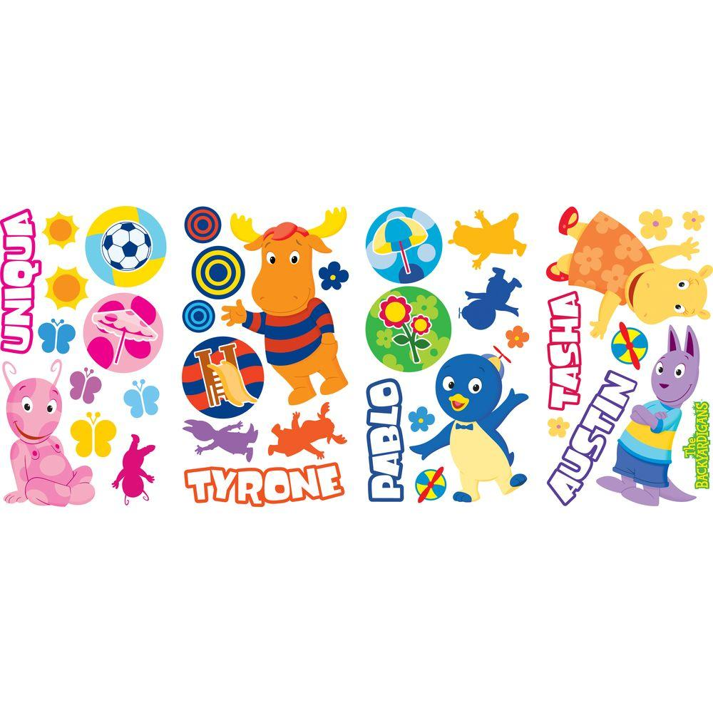 RoomMates Backyardigans Peel and Stick Wall Decals