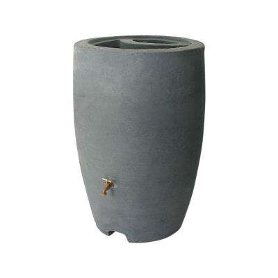 Athena 50 Gal. Charcoal Rain Barrel