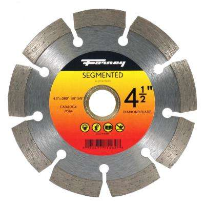 4-1/2 in. Segmented Diamond Cut-Off Blade