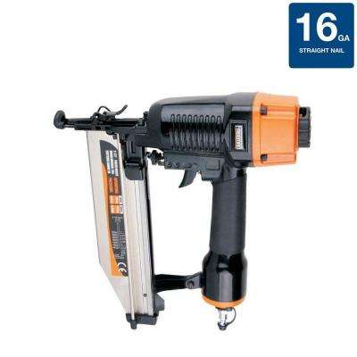 Pneumatic 16-Gauge Strip Straight Finish Nailer