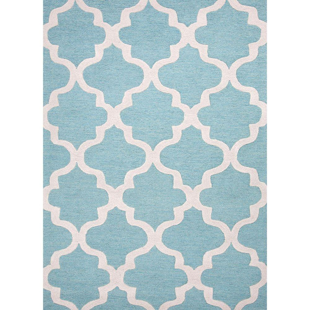 Home decorators collection gwendolyn baltic 8 ft x 11 ft for Geometric print area rugs