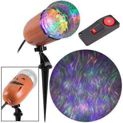 Super Bright Ghost Flame 15-Programs Halloween LightShow Projection with Remote Control