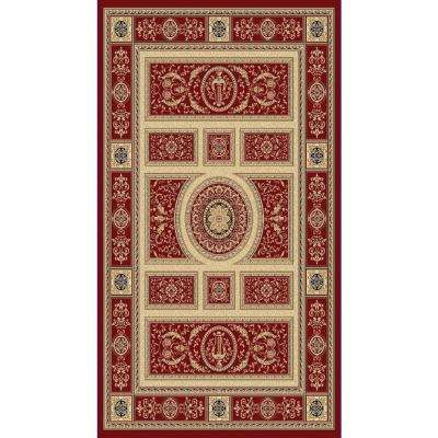 Legacy Red 7 ft. x 10 ft. Indoor Area Rug