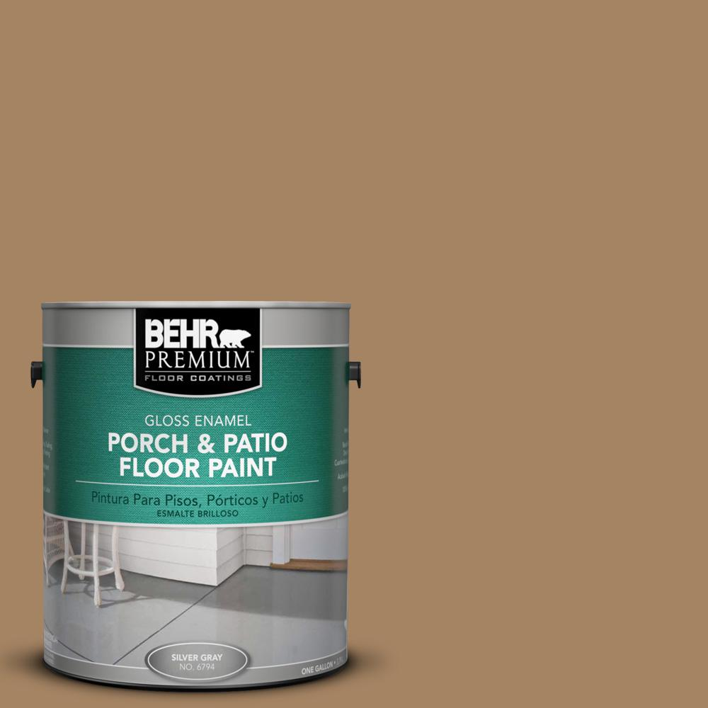 1 gal. #290F-5 Wooden Swing Gloss Porch and Patio Floor Paint