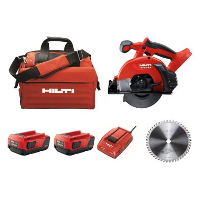 SCM 22-Volt Lithium-Ion Cordless Metal Cutting Circular Saw Kit