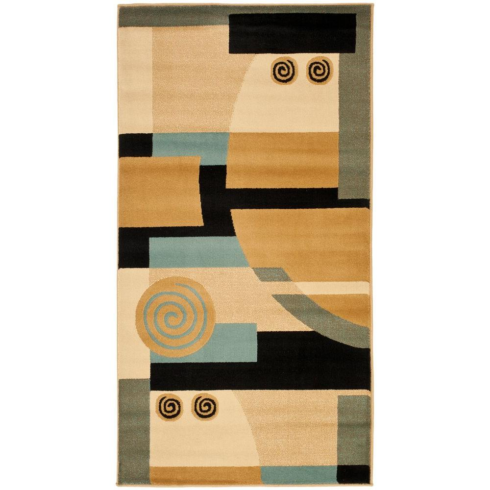 Safavieh Porcello BlackMulti 2 ft x 3 ft 7 in Area Rug  : black multi safavieh area rugs prl6843 9091 2 641000 from www.homedepot.com size 1000 x 1000 jpeg 101kB