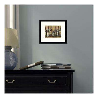 11 in. W x 9 in. H 'Wine Collection I' by NBL Studio Printed Framed Wall Art