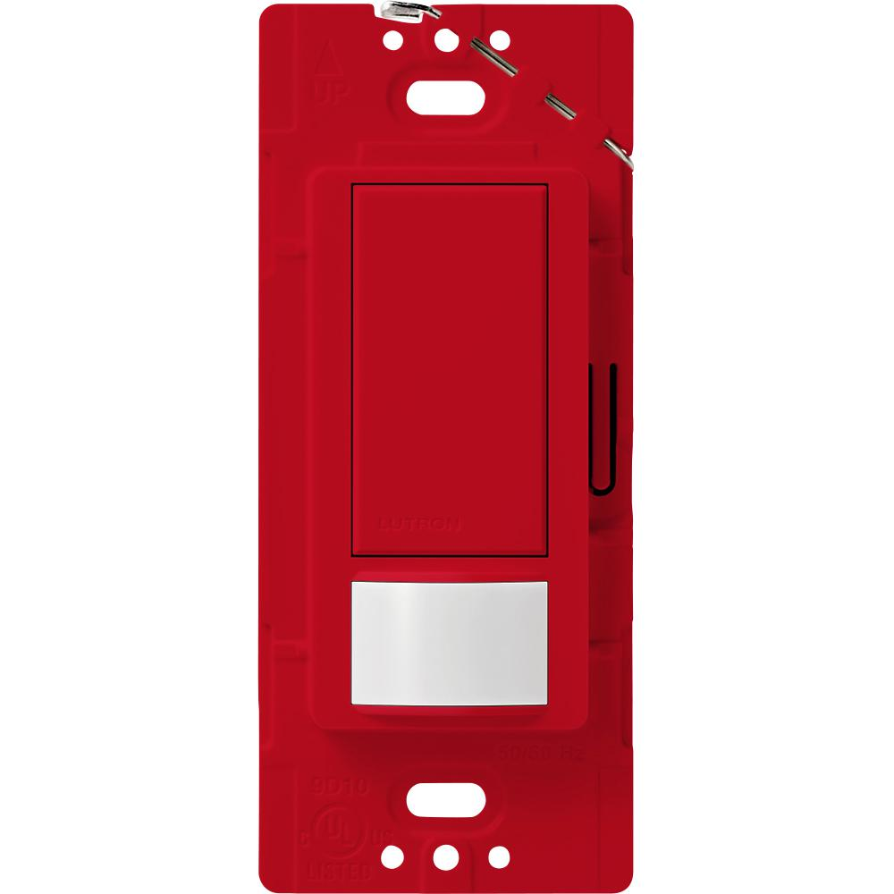 Lutron Maestro Vacancy Sensor switch, 5-Amp, Single-Pole or Multi-Location, Hot