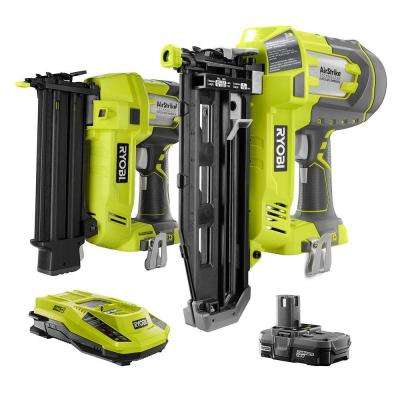 18-Volt ONE+ AirStrike Brad Nailer and Straight Nailer Combo (2-Tool)
