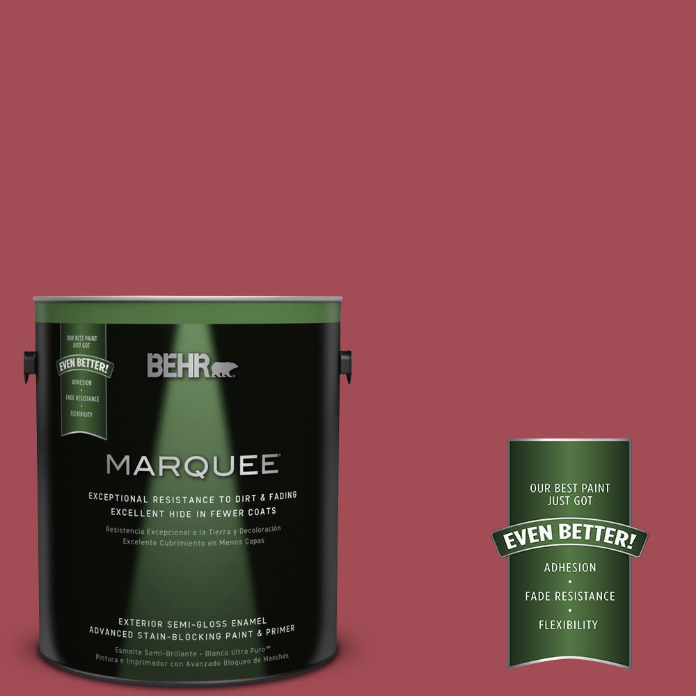1 gal. #HDC-FL15-02 Cranberry Jam Semi-Gloss Enamel Exterior Paint
