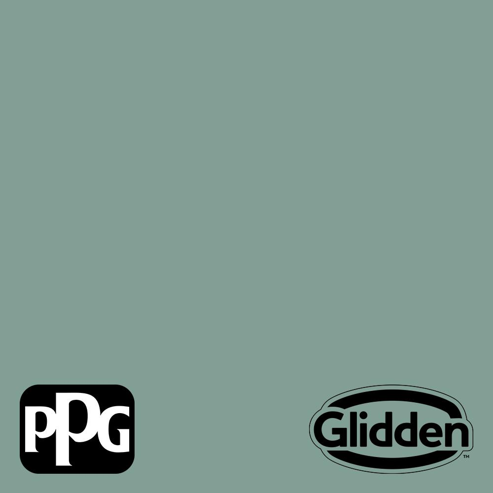 Glidden Premium 1 Gal Ppg1137 5 Silver Laurel Satin Exterior Latex Paint Ppg1137 5px 1sa The Home Depot