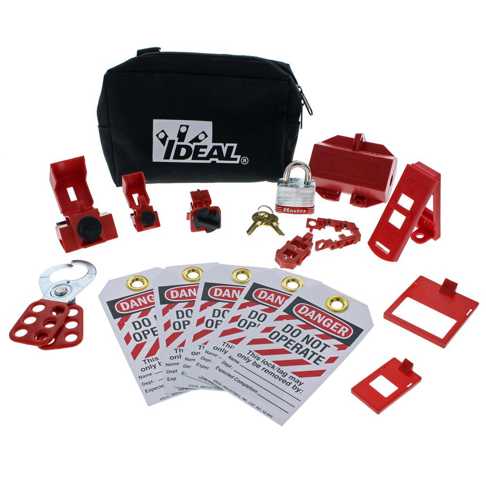 Basic Lockout/Tagout Kit (15-Piece)