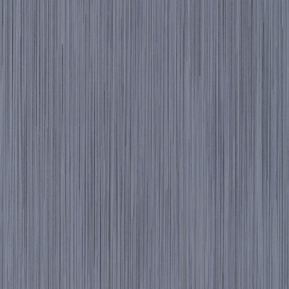 56.4 sq. ft. Tatum Blueberry Fabric Texture Wallpaper