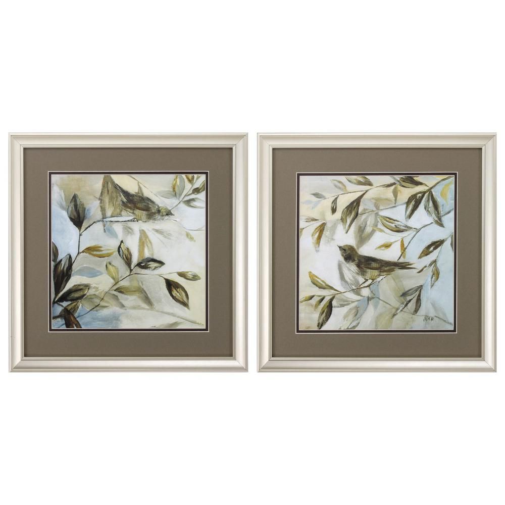 Homeroots Victoria Champagne Gold Color Gallery Frame Set Of 2 365264 The Home Depot