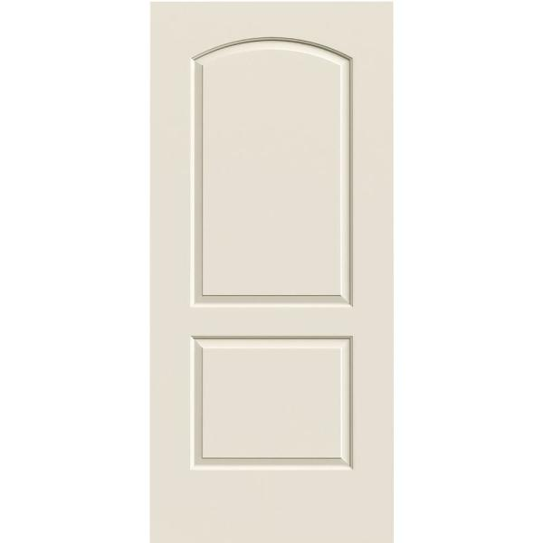 Jeld Wen 36 In X 80 In Continental Primed Smooth Solid Core Molded Composite Mdf Interior Door Slab Thdjw137000556 The Home Depot