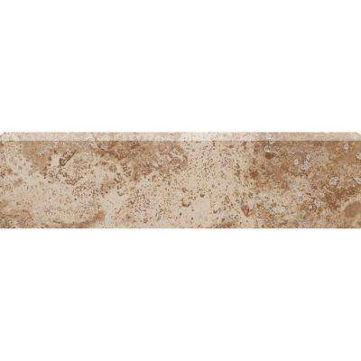 Montagna Cortina 3 in. x 12 in. Porcelain Bullnose Floor and Wall Tile