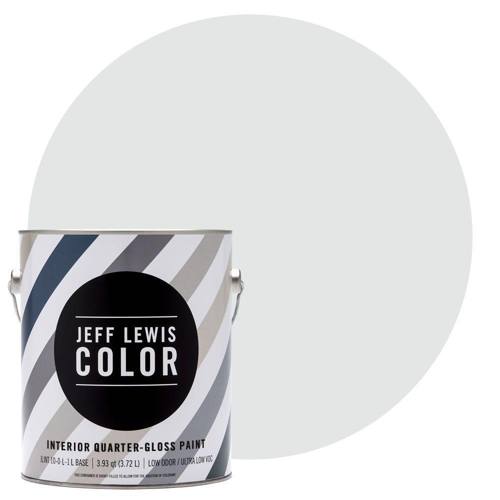 1-gal. #JLC310 Sky Quarter-Gloss Ultra-Low VOC Interior Paint