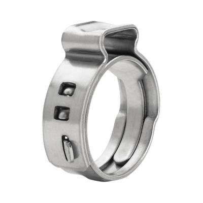 5/8 in. Stainless Steel Oetiker Style Pinch Clamps PEX Cinch Rings (10-Pack)