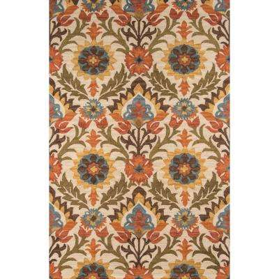 Tangier Gold 4 ft. x 6 ft. Indoor Area Rug