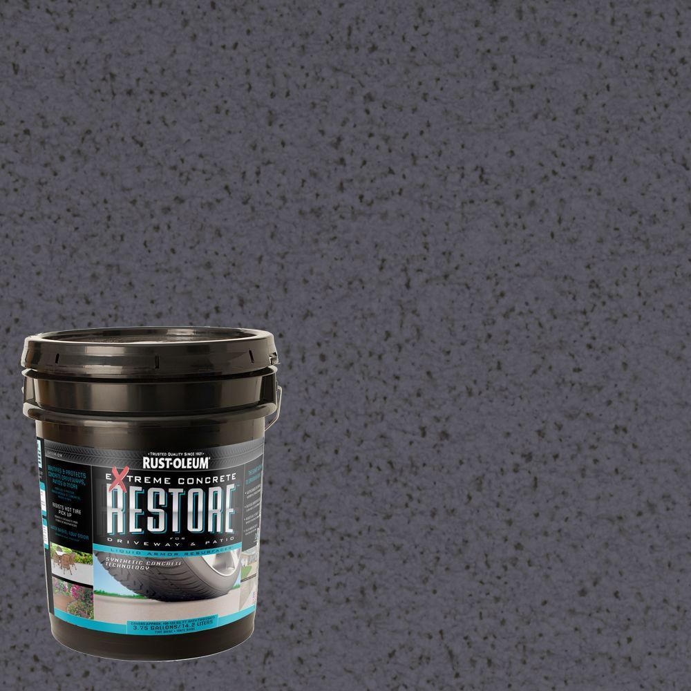 Rust-Oleum Restore 4 gal. Carbon Liquid Armor Resurfacer