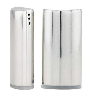 Stainless Steel Oval Salt and Pepper Shaker Set