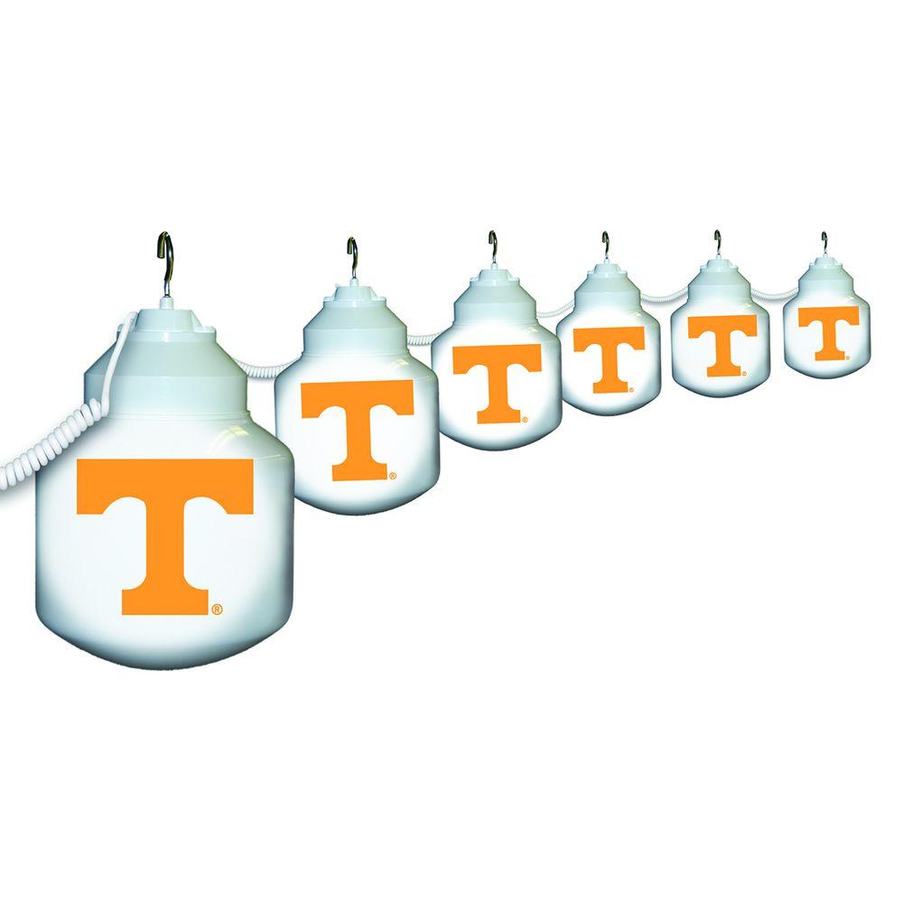 Polymer Products 6-Light Outdoor University of Tennessee String Light Set