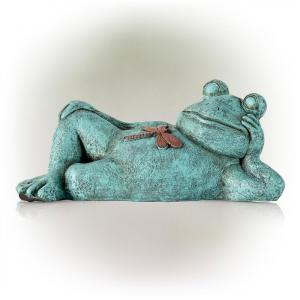 Frog Relaxing Statue