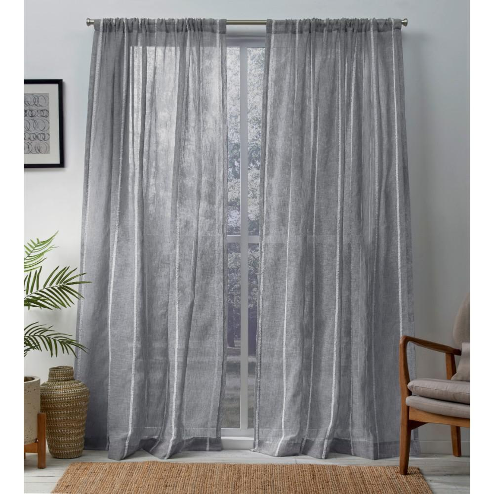 Gray Curtain Panels Best Home Decorating Ideas