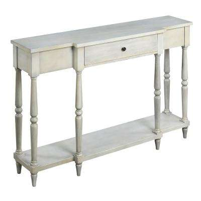 Wyoming Antique White Console Table