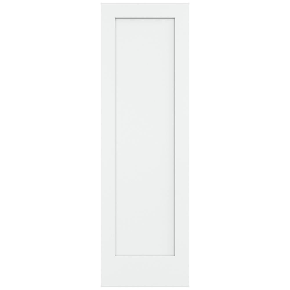 Jeld Wen 30 In X 96 In Madison White Painted Smooth Solid Core Molded Composite Mdf Interior