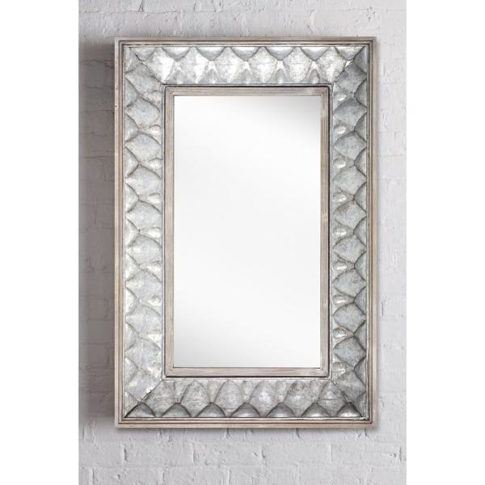 Rectangle Metal Wall Mirror