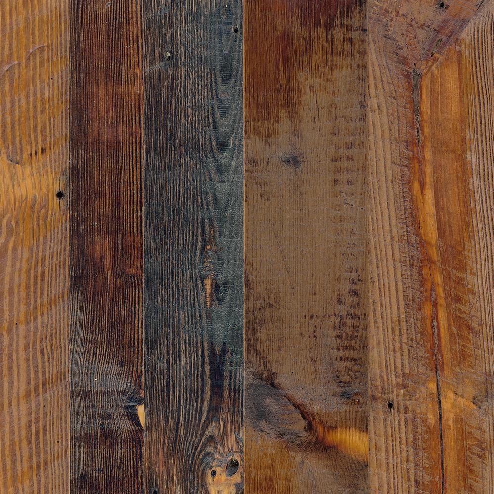 4 ft. x 8 ft. Laminate Sheet in Antique Cognac Pine with Virtual Design Matte Finish