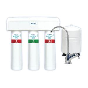 Click here to buy Brita Redi-Twist 3-Stage Reverse Osmosis Drinking Water Filtration System by Brita.