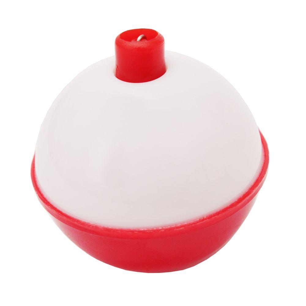 2 in. Red/White Bulk Float (50-Piece)