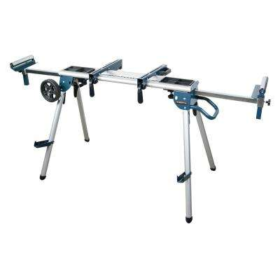 Deluxe Rolling MIter Saw Stand with Trays