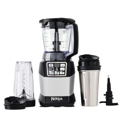 Nutri Auto-iQ 24 oz. 5-Speed Black Compact System Blender