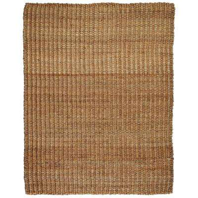 River Sand Tan 9 ft. x 12 ft. Jute and Hemp Area Rug