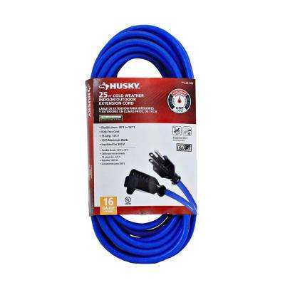 25 ft. 16/3 (-50°) Cold Weather Extension Cord
