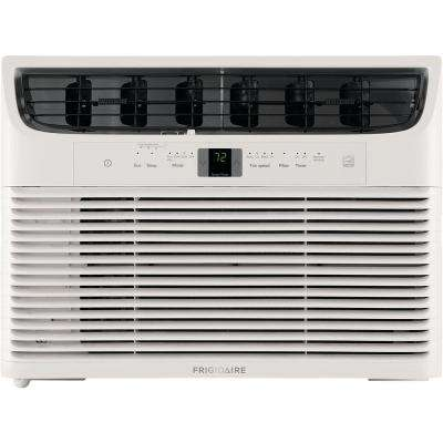 15,000 BTU 115-Volt Window-Mounted Median Air Conditioner with Temperature Sensing Remote Control