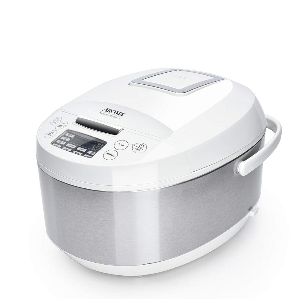 3 Qt. White Electric Multicooker